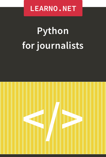 Python for journalists